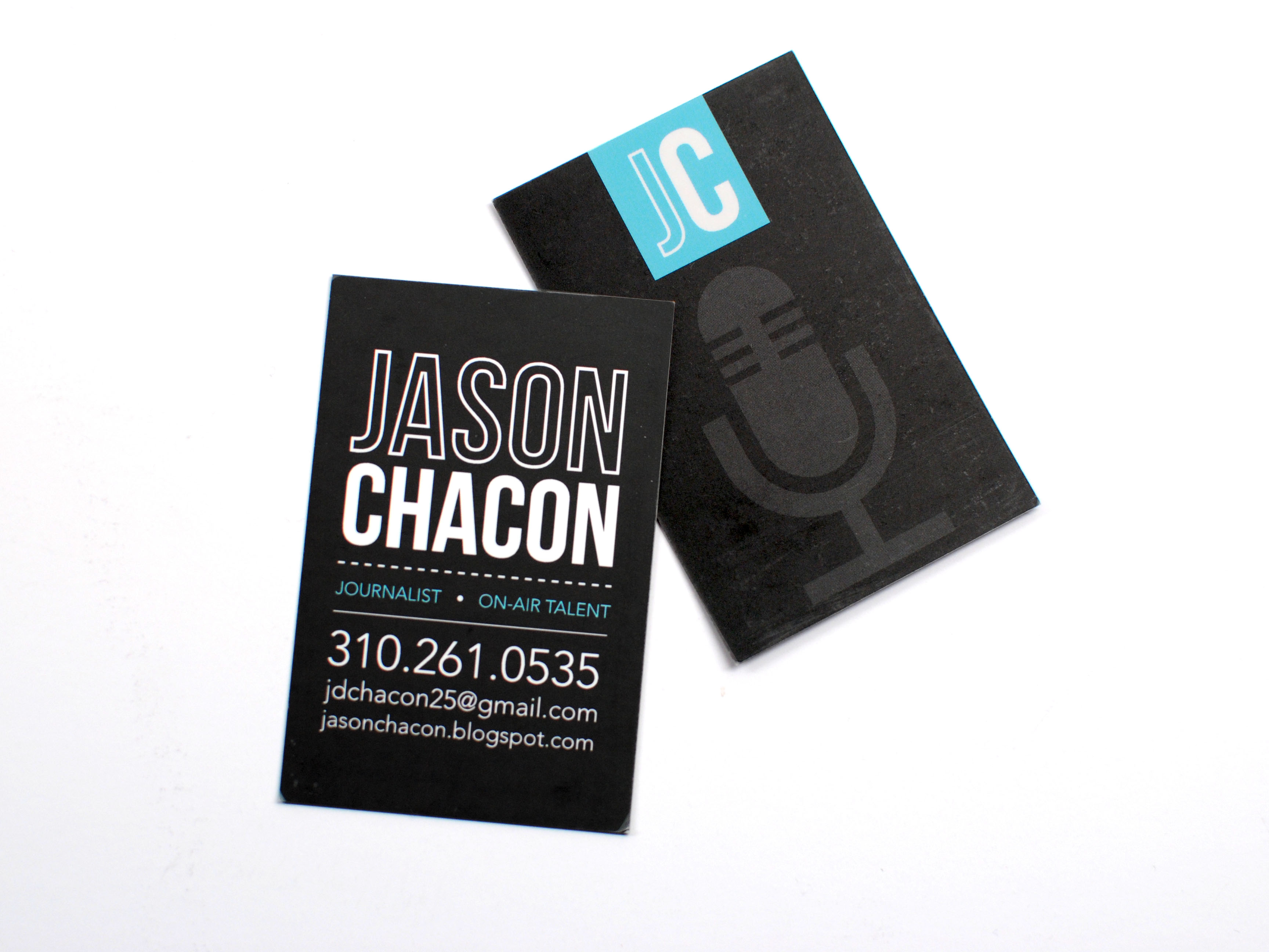 Business Card – Jason Chacon – The portfolio of Becca Mendez